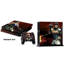Skin Play Station 4 Resident Evil, Batman, Superman,