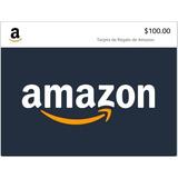 Amazon Mx Tarjeta De Regalo 100 Pesos [ Leer Descripción ]
