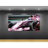 Cuadro Decorativo Formula Uno F1 Force India Checo Pérez