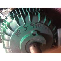 Motor De 5 Hp 8 Polos 970 R.p.m. Trifasico