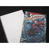 Paquetes 100 Bolsas Con Adhesivo 100 Cartones Para Comic