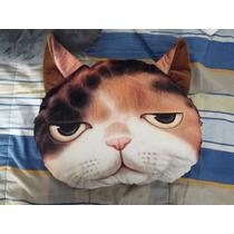 Cojin Con Forma De Gato, Juguete, Almohada De Gato, Peluche