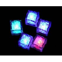Hielos Luminosos Led Multicolor Sensor Liquido Fiestas Neon