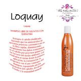 Loquay Primer Shampoo Con Queratina Libre De Sulfatos 250ml