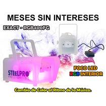Steelpro Cámara De Humo 400w, Rgb Led Interior.