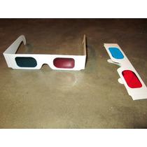 Lentes 3d Cyan Rojo Y Azul