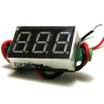 Mini Volmetro Digital 2.5v-30v
