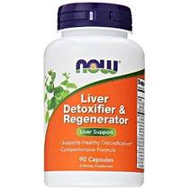 Now Foods Hígado Desintoxicante Y Regenerador, 90 Cápsulas