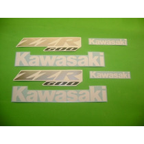 Kit De Stickers Calcomanias Para Moto Kawasaki Zzr 600