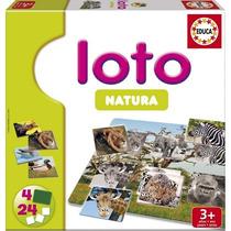 15880 Loto Natura Loteria Animales Salvajes 28 Piezas Educa