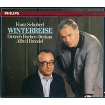 Schubert - Winterreise Cd Clasica Piano Op4