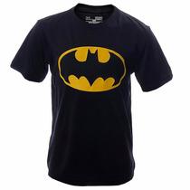 Playera Batman Dc Comics Heatgear Niño Under Armour Ua124