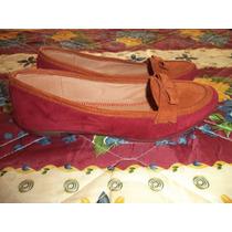 Zapatos Flats De Piso Jipi Japa Cafe Con Vino Dama 4 Mex