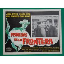 Jorge Rivero Pistoleros De La Frontera Orig Cartel De Cine