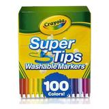 Marcadores Crayola Súper Tip Con 100