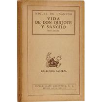 Vida De Don Quijote Y Sancho - Miguel De Unamuno
