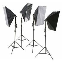 Equipo Fotografico Iluminación Softbox Ephoto 4pcs, 5500k