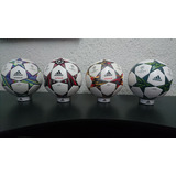 10pack Bases Balones Oficial adidas Champions League Mundial