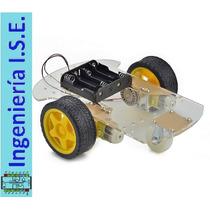 Kit Chasis Carro Robot 2wd Para Arduino, Pic ¡ Sé El Mejor !