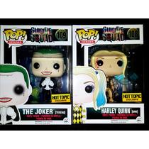 Envío Inmediato Funko Pop Suicide Squad Joker Harley Quinn