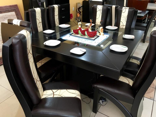 Comedor de 8 sillas moderno comedores envio gratis 18000 for Sillas de comedor minimalistas