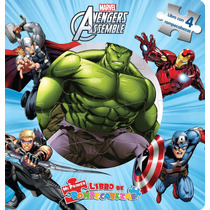 Mi Primer Libro De Rompecabezas: Avengers Assemble
