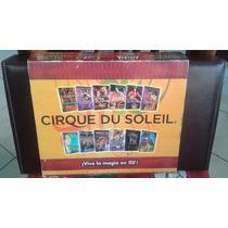 Cirque Du Soleil Estuche Fino Vinipiel Colecc 12 Dvds Nuevos