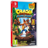 Nuevo Crash Bandicoot N Sane Trilogy Nintendo Switch + Bonus
