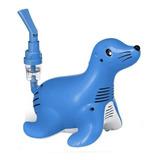 Nebulizador De Compresor Philips Respironics Sami The Seal Azul 110v
