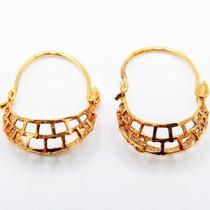 049607d6d993 Aretes Canastas Oro 10 Kilates Elegantes Arracadas Niña Bebe en ...