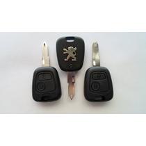 Control Remoto Peugeot Y Llave Virgen 106, 206, 306, 207