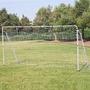 Portería De Futbol Soccer Goal Tubo De Acero Gol Fut