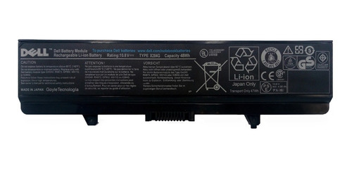 Bateria Original Laptop Dell Inspiron 1525 1526 1545 1526 Bf