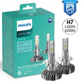 Led H7 Philips Ultinon 6200k +160% Foco Original