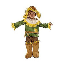 Disfraz Bebe Espantapajaros Niño Halloween Mago De Oz