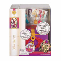 Cofre Secreto Ever After High Activado Con Voz Llaves Graban
