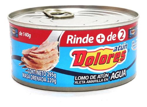 Dolores Atún En Agua Lata 295 Gr