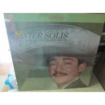 Javier Solis Acon Acompañamiento De Mariachi Lp Nuevo ---