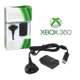 Kit Carga Y Juega Bateria Recargable Para Xbox 360 + Horas
