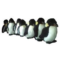 Familia De 7 Pingüinos De Peluche