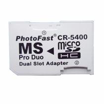 Adaptador Dos Micro Sd A Pro Duo Photofast 32 Gb Psp Camara