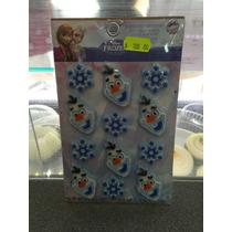 Olaf Frozen Decoración De Azúcar Para Pastel De 4cm Con 12 P