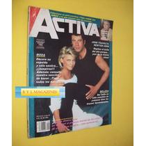 Olivia Newton John Travolta Revista Activa 1984
