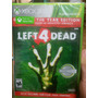 Left 4 Dead 1 Y 2 Xbox 360 / One
