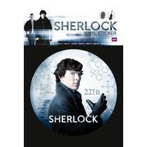 Sherlock Parachoques - Mapa Mental Vinilo 10x15cm Tv Oficial