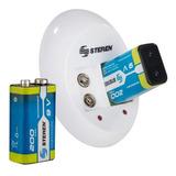 Cargador De Pilas De 9v Incluye 2 Baterias Recargables
