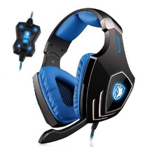 Sades A60 7.1 Surround Sound Usb Professional Gaming Headset