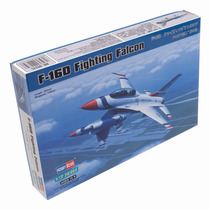 Modelo Plano - F-16d Fighting Falcon 1:72 Hobbyboss Plástico
