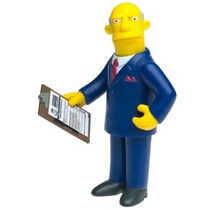 Los Simpson: Serie 8 Figura De Acción Superintendente Chalme
