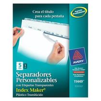 Lm-separador De Plastico Traslucidoave-sep-11449 Upc: 07278
